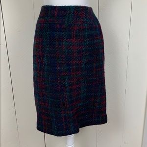 Talbots Wool Skirt